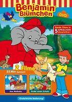 Benjamin Blümchen - Das Walbaby / ...findet einen Schatz ...   DVD   Zustand gut
