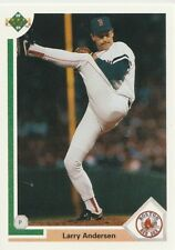 "Larry  ""(LA)"" Andersen Red Sox Pitcher 1991 Upper Deck # 41 17 yrs in MLB"