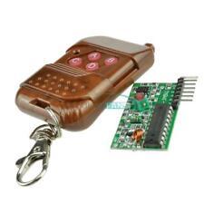 4 key wireless remote 433MHZ  4 channel IC2262/2272 wireless remote control kits