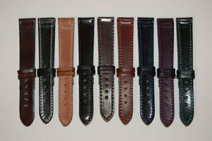 New Unisex Ladies/Mens PU Leather Watch Strap 15 Colours in all sizes 12mm -22mm