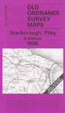 Scarborough,Filey y District 1896: One Pulgadas Hoja 54 (Old Ordnance Survey