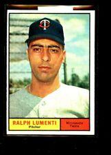 1961 TOPPS #469 RALPH LUMENTI TWINS NRMINT+ OC E02024