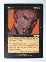 Rare Hatred Exodus MTG Magic The Gathering Trading Card LP