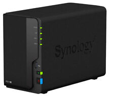 Synology Disk Station DS218+ Netzwerkspeicher Gigabit LAN NAS System 2-Bay 4K