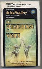 The Persistence of Vision John Varley 1979  Paperback Vintage Science Fiction