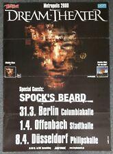 Dream Theater Metropolis 2000 GERMANY CONCERT POSTER Spock's Beard