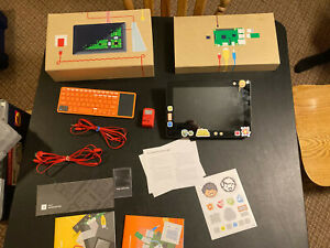 Kano Build Your Own Computer Kit + Tablet Screen Tested Working! Minecraft