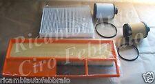 Kit Tagliando Filtri Fiat Doblò 1.3 Idea Punto II Lancia Ypsilon Musa UFI K102FT