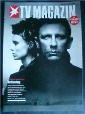 DANIEL CRAIG ROONEY MARA deutsches Covermagazin, Februar 2014
