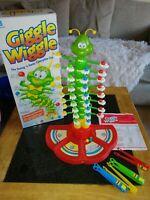 Giggle wiggle caterpillarVintage game MB Milton Bradley 1991 orignal swing sway