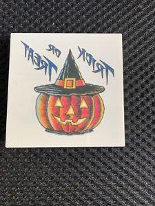 Pumpkin Halloween Tattoos Set Of 5