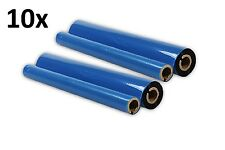 10 Faxrollen kompatible Für Brother Fax T72 / T74 / T78 T102 T104 PC-72RF PC72RF
