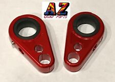 Billet Red Front A-Arm Brake Line Clamps Honda TRX 400EX 400X 700XX TRX450ER