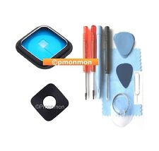 Rear Camera Lens REAL Glass Cover w Frame for Samsung Galaxy Note 4 N910 + Tools