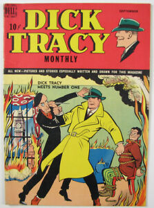 Dick Tracy Monthly Golden Age Comic Book #21  1949 Dell