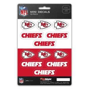 Kansas City Chiefs - Set Of 12 Sticker Sheet