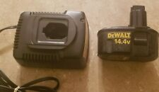 Genuine DeWalt Battery and Charger, Dw9091 Type 2 14.4v Battery, Dw9107 Charger