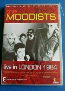 THE MOODISTS Live in London 1984 DVD (Dave Graney) NEW SEALED see below