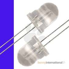 10x 10mm UV LEDs Light Emitting Diode Purple Ultra Violet Arduino PIC -AUS STOCK