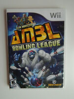 AMBL Alien Monster Bowling League Game Complete! Nintendo Wii