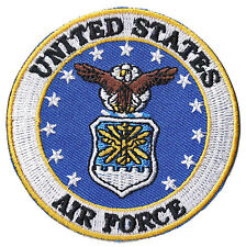 Patche écusson US Air Force USAF thermocollant hotfix patch armée brodé