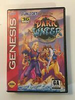 The Pirates of Dark Water (Sega Genesis, 1994) - BOX AND GAME ONLY NO MANUAL