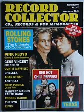 Record Collector 3/00 Rolling Stones Red Hot Chili Pepp