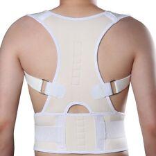 US Magnetic Therapy Posture Corrector Support Back Shoulder Brace Belt Men Women