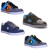 Dc Shoes Pure Se Lacek Up Skate Nubuck Leather Trainers