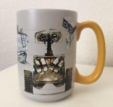 Disney Authentic Parks 12 oz Coffee Art of PIXAR Mug Cup WALL-E Ceramic Robot