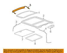 general motors sunroofs, hard tops \u0026 soft tops for chevrolet hhr ebaychevrolet gm oem 06 11 hhr sunroof wind air deflector 15907353