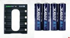 JUGEE 1.5v 3000mWh AA rechargeable Li-polymer lithium battery and charger