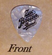 ZAC BROWN BAND band logo  guitar pick  -(z)
