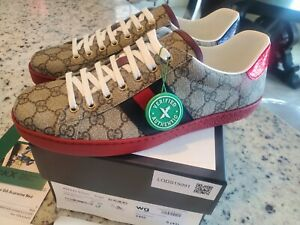 Gucci Ace GG Supreme Brand New Authentic Size 9.5 US  / 9UK