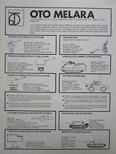 3/1977 PUB OTO MELARA LA SPEZIA CHAR M 113 TANK ARMAMENT ARTILLERY MISSILE AD