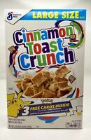 Cinnamon Toast Crunch Limited Cereal Box - 25th Anniversary Pokemon Packs Sealed