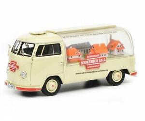 Schuco VW T1a Bus Schwabisch Hall beige 1:43 450902300