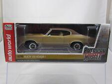 Auto World American Muscle 1970 Buick Skylark Brown w/Brown Vinyl Top AMM1105