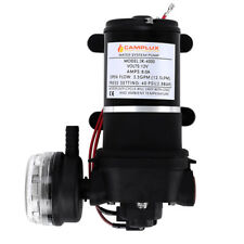 12v 4.3lpm Self-priming Water Pump High Pressure Caravan Camping Boat AU
