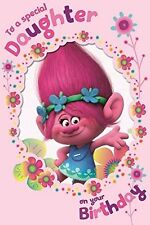 Trolls Special Daughter Birthday Card 242294 NEW