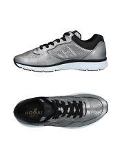 NIB Hogan Interactive Mens Fashion Sneaker Lead Soft Leather US 11M/ UK 10