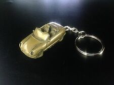 TVR Chimeara Brass Effect 3D split-ring keyring FULL CAR ref278