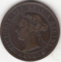 1901 Victoria Large Cent F 12