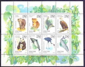 Russia 1993 Fauna of World, mini sheet. MNH