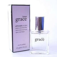 Philosophy Inner Grace Eau De Parfum 0.5 OZ SPRAY! NEW IN BOX! AMAZING! SEALED