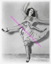 RITA HAYWORTH LEGGY DANCING UPSKIRT 8 X 10 PHOTO A-RH30