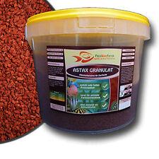 Astax Granulat Groß 3 L Eimer 1,5 kg Futter Aufzucht Astaxanthin  Fisch Aquarium