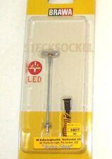 BRAWA 84017 Bahnsteigleuchte Stecksockel LED H0