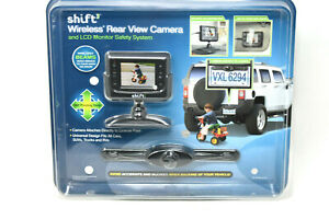 Shift3 Wireless Rear View Camera Vehicle Backup Camera $169.99 - Sealed