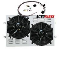 """CFM/'s 160W,2500 1970-1985 Jeep CJ 16/"""" Electric Radiator Fan /& Relay Kit"""